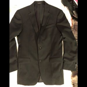 Back John Varvatos Suit Jacket